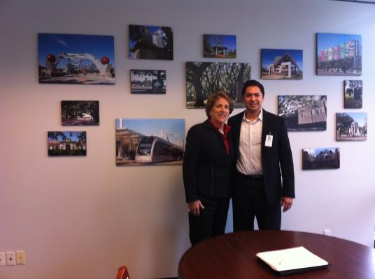 Ellen Cohen, Eric Melchor, Houston City Council, Distric C