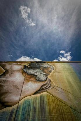 sebastien boileau, mural in houston, creation of adam midtown houston