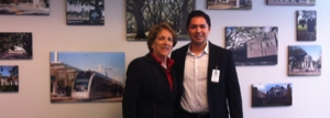 Meeting with City Council Member Ellen Cohen and Eric Melchor