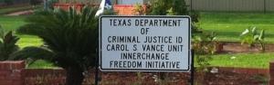 Carol Vance Texas prison