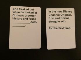 fun wedding game, cards against matrimony