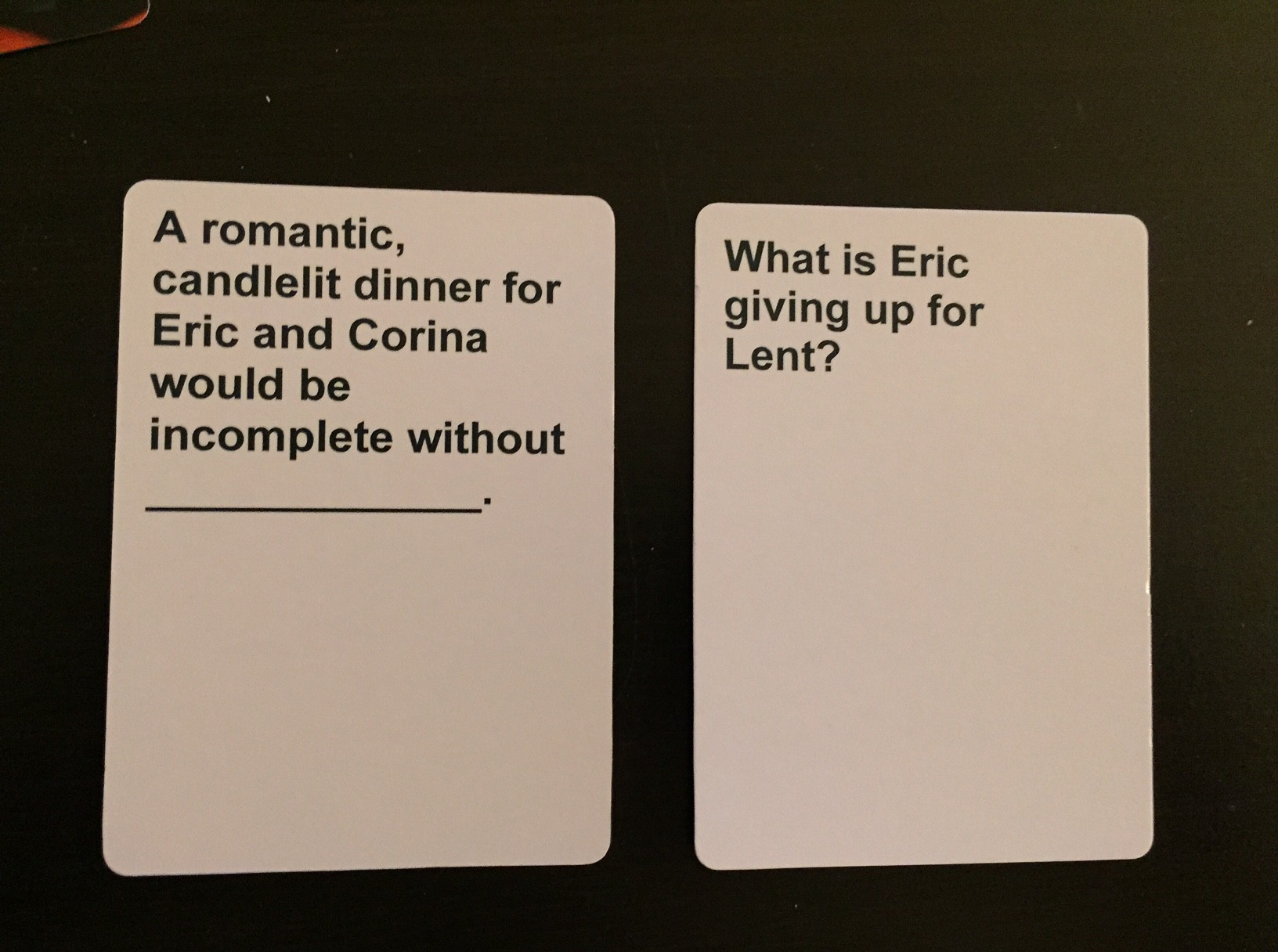 Cards Against Matrimony A Hilarious Wedding Game Make Houston Great