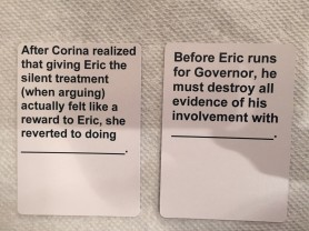 create own version of cards against matrimony