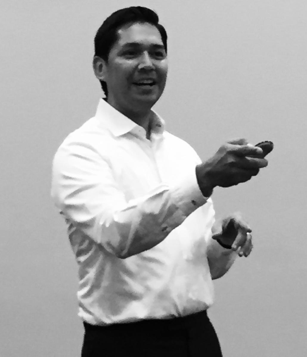 Hispanic Motivational Speaker
